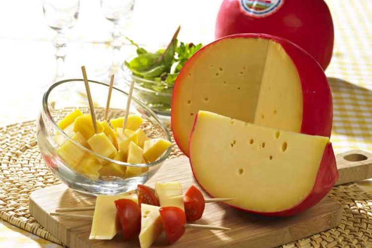 ambiance culinaire fromage Mimolette E. Leclerc